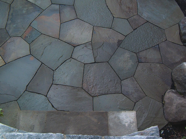 variegated bluestone